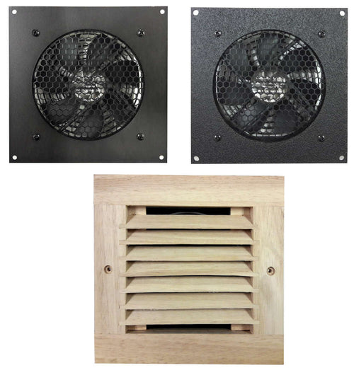 Good Coolerguys Single 120mm Fan Cooling Kit With Thermal Controller