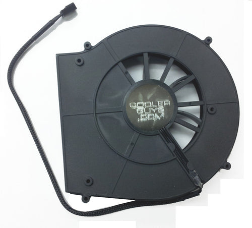 Coolerguys Rear Exhaust Blower Fan 140x137x25mm 12v with 3pin Connector