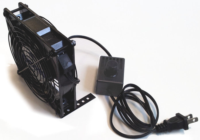 Coolerguys 120x25mm Low Speed Ac Fan With Mount Stand And