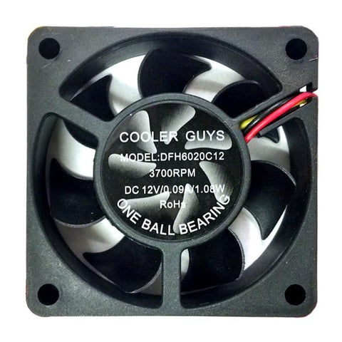 Coolerguys 60mm x 20mm Fan #DFH6020C12 with 3 pin connector