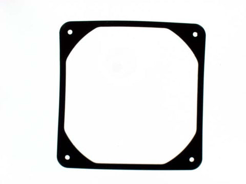 Coolerguys 80mm Anti-Vibration Rubber Fan Gasket -8FWK  Black