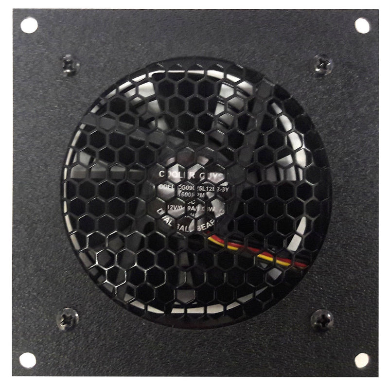 Coolerguys Single 92mm Fan Cooling Kit with Programmable Thermal Controller - Coolerguys