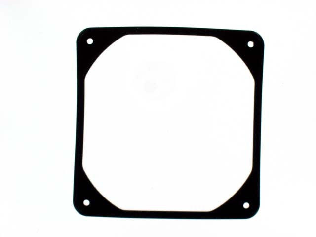 CoolerGuys 92mm Anti-Vibration Rubber Fan Gasket - 9FWK Black - Coolerguys