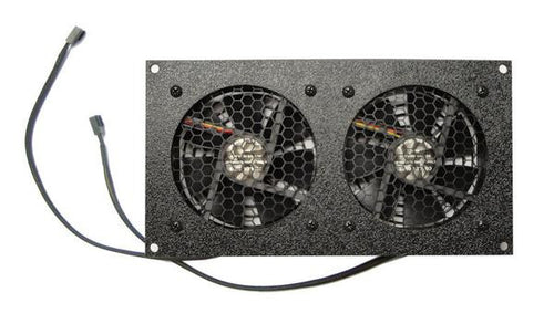 Coolerguys Dual 92mm Fan Cooling Kit with Programmable Thermal Controller - Coolerguys