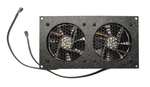 Coolerguys Dual 92mm Fan Cooling Kit with Thermal Controller - Coolerguys