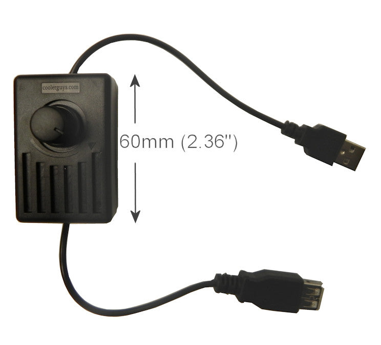 Coolerguys Manual speed Controller for USB Fans - Coolerguys
