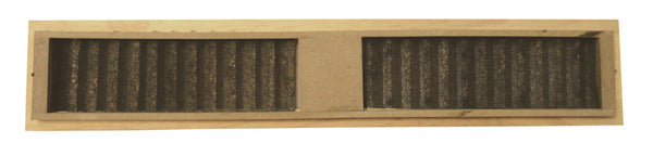 Coolerguys oak cabinet intake grill with filter