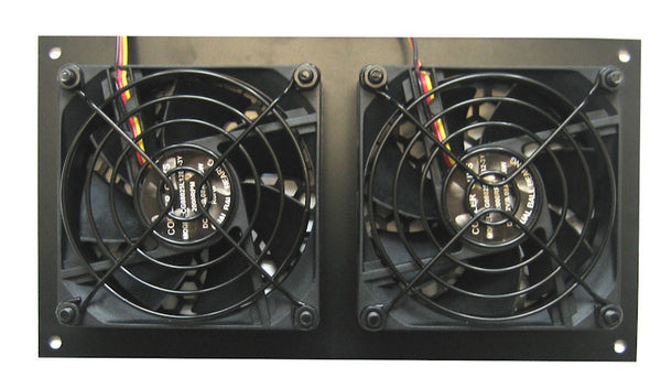 Coolerguys PRO-Metal Series Dual 80mm Cooling kit CabCool802-M