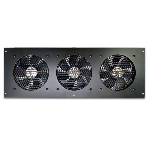 Coolerguys PRO-Metal Series Triple 120mm Cooling Kit CabCool 1203-M