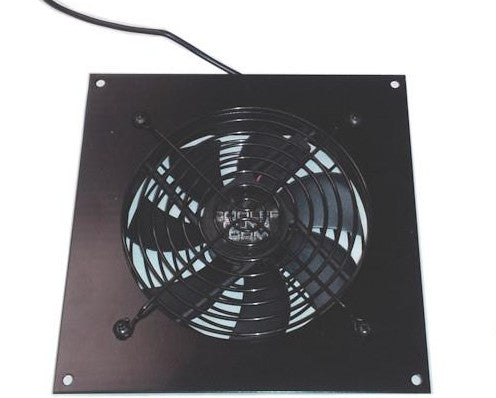 Coolerguys Pro-Metal  Single 120mm USB Fan Kit with Pre-set Thermal Controller: Cabcool1201-M-USB/Pre - Coolerguys