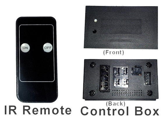 Coolerguys Remote IR Controlled Fan Controller Integrates with Logitech Harmony Remote - Coolerguys