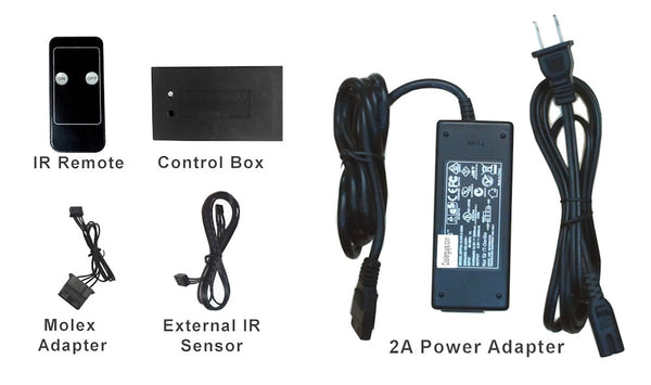 Coolerguys Remote IR Controlled Switch with 2A power supply
