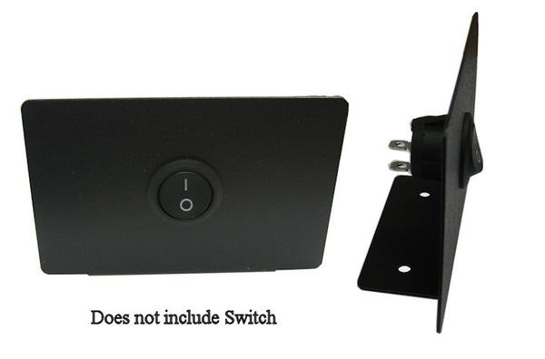Coolerguys Switch Mounting Plate Dual or Single