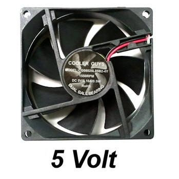 Coolerguys 80mm (80x80x25) 5 Volt Fan - Coolerguys