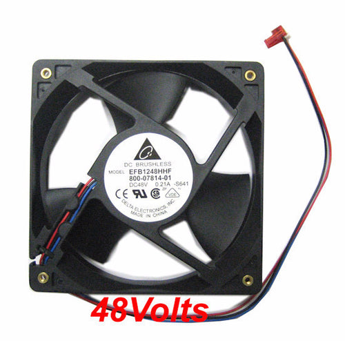 Delta 120x120x32mm 3 Pin RPM Sensor Fan EFB1248HHF - Coolerguys