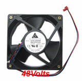 Delta 120mmx32mm High speed 48 volt Fan # EFB1248HHF 3 wire with 3-pin Connector
