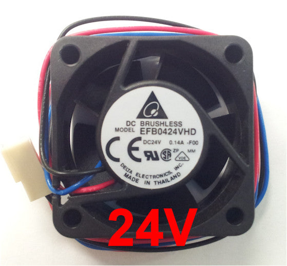 Delta 40x20mm 24V 3pin Case Fan #EFB0424VHD-F00
