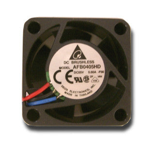 Delta 40x20mm 5 volt DC fan-3 pin #AFB0405HD-FOO