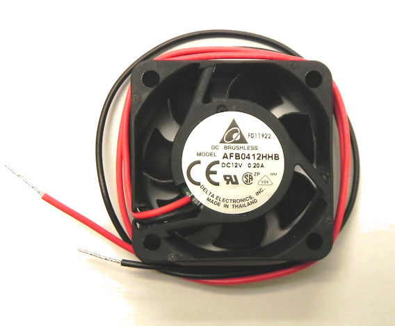 Delta  40X40X15mm 12V High Speed Ball Bearing Bare Wire Fan # AFB0412HHB