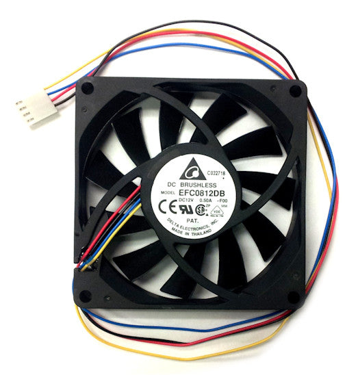 Delta 80x80x15mm High Speed PWM Fan-EFC0812DB - Coolerguys