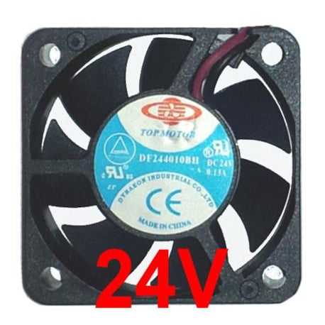 Dynatron / Top Motor 40x40x10mm 24 Volt High Speed fan  #DF244010BHG