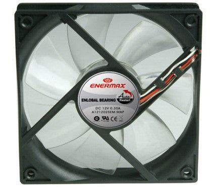 Enermax Low noise 120 x 25mm Fan Model UC-12AEBS - Coolerguys