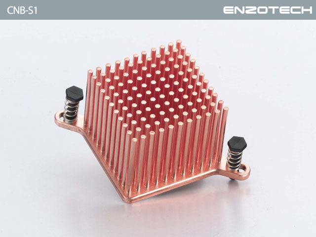 Enzotech Northbridge heatsink  One Piece Forged Copper  # CNB-S1