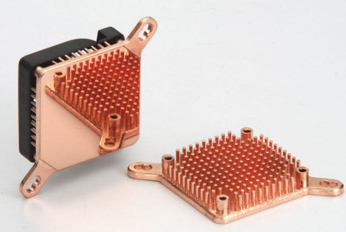 Enzotech Pure Copper, Low Profile Heat Sink w-Fan SLF-1 - Coolerguys