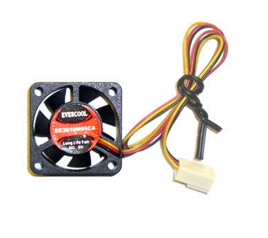 Evercool 30mm x 10mm  5 volt fan with 3 pin connecter # EC3010M05CA