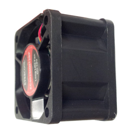 Evercool 40x28mm 12V PWM fan with connector #F-EC4028HH12BP