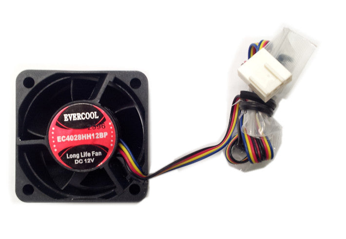 Evercool 40x40x28mm 12V PWM Fan With Connector