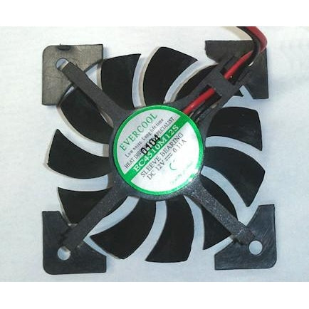 Evercool Video Card Fan 45x45x10mm VC-EC4510M12S-X - Coolerguys
