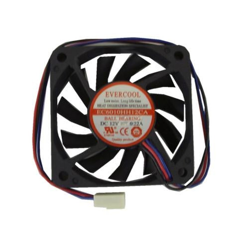 Evercool 60x60x10mm High-Speed Fan 3 Pin-EC6010HH12CA - Coolerguys