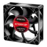 Evercool 70x70x25mm High Speed PWM Fan EC7025SH12BP