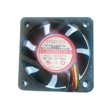 Evercool 40mm (40x40x10) 3pin Fan - EC4010M12CA - Coolerguys