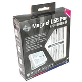Evercool Magnet USB Fan in Mountable Bracket #EC-MUF-12