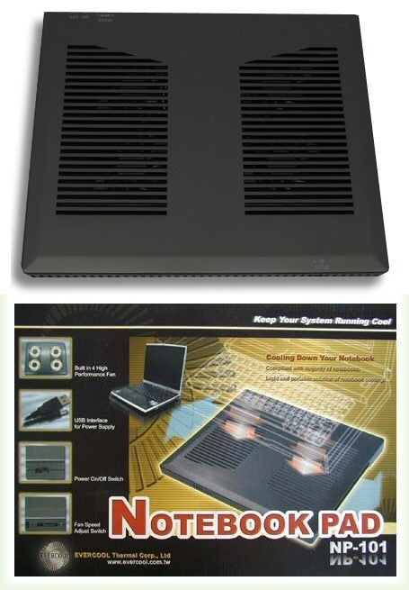 Evercool Notebook Pad NP-101 - Coolerguys