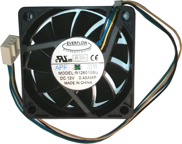 Everflow 60X60X15mm Dual Ball Bearing Ultra High Speed PWM Fan # R126015BU