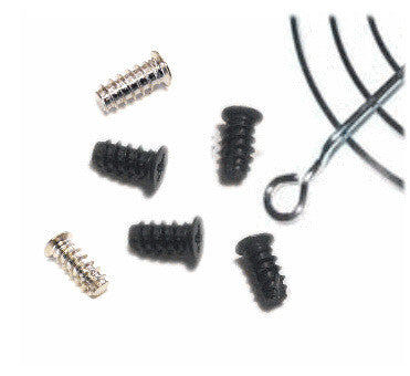 Fan Case Screws  Black or Silver ( pack of 4) M5 10mm