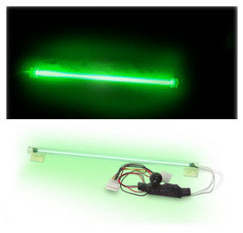 PcToys Cold Cathode12 inch Light Kit. Single Bulb Green - Coolerguys
