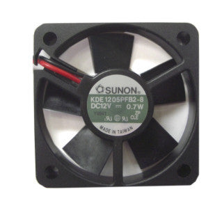 Sunon  50x50x10mm Cooling Fan with 2 Pin Connector KDE1205PFB2-8 - Coolerguys