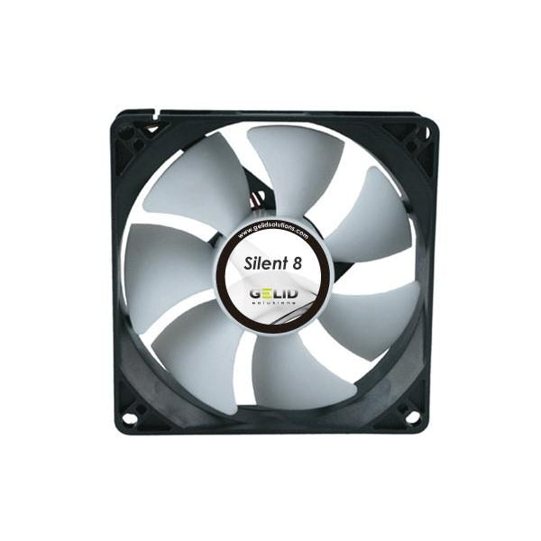 Gelid Silent 8 80x80x25mm FN-SX08-16 - Coolerguys