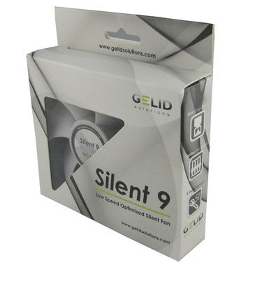 Gelid Silent 9 92mm silent case fan #FN-SX09-15