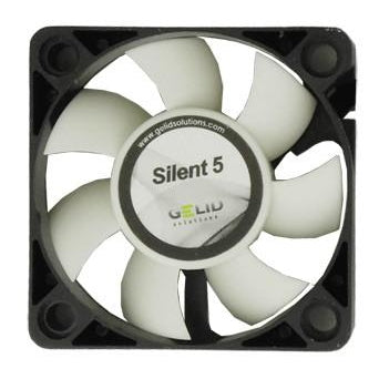 Gelid Silent5 Case Fan 50x50x15mm Fan with 3 Pin Connector FN-SX05-40 - Coolerguys