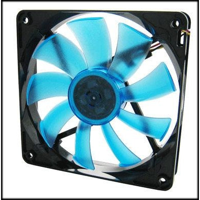 Gelid Wing 12 120x120x25mm Gamer Fan Blue FN-FW12-15-B - Coolerguys