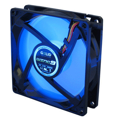 Gelid Wing 9 92mm Gamer Fan Blue  #FN-FW09-20-B