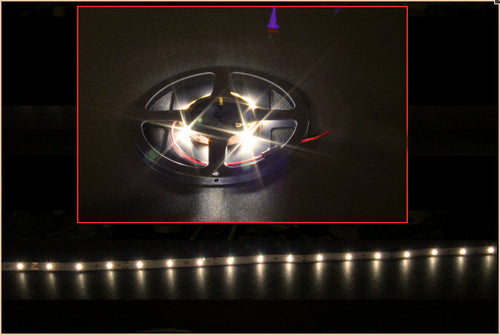 HT 30/60 LED Flexible Light Strip 39 /78 inch 12 volt Warm White - Coolerguys