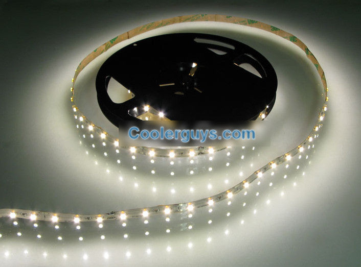 HT 60 LED Double Density 78 inch(2M) or 197 inch(5M) Long Flexible Light Strip 12 volt White 6500K