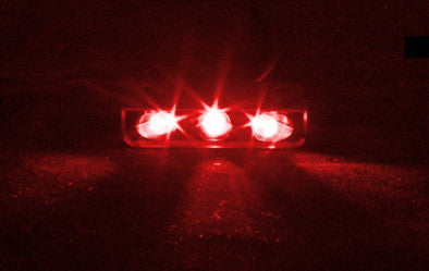Lamptron Lazer 3 LED Red Spread light