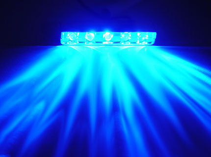 Logisys 5 LED Blue Lazer light #MDLED5BL - Coolerguys